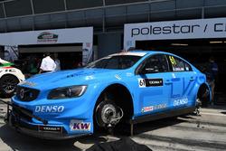 el Volvo de Nestor Girolami, Polestar Cyan Racing