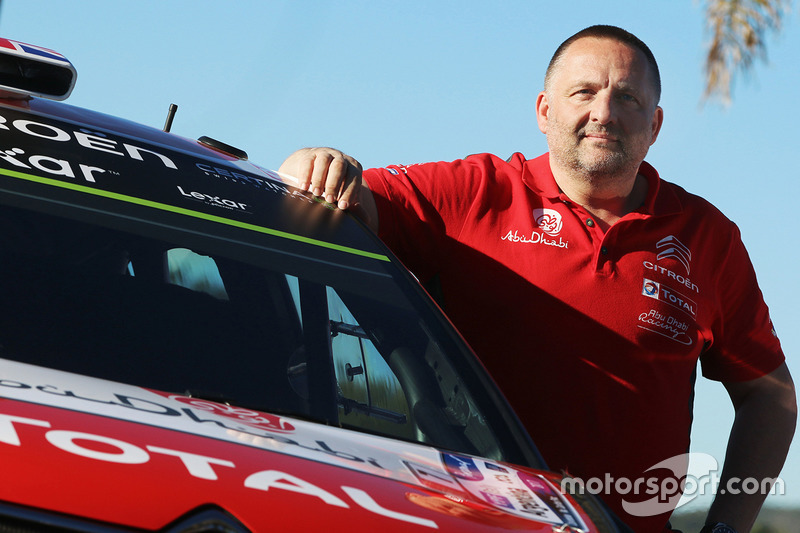 Yves Matton, head of Citroën World Rally Team