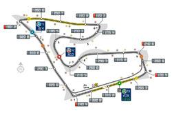 Red Bull Ring nueva numeración de las curvas
