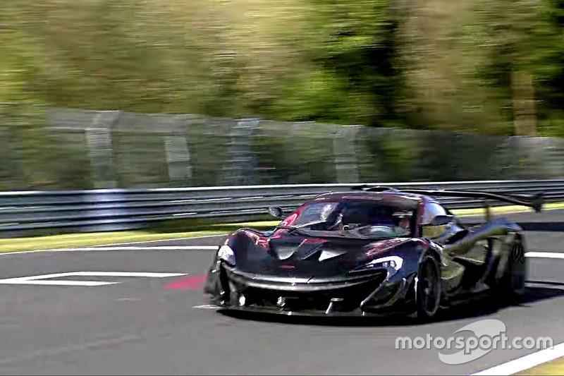 McLaren P1 GTR LM