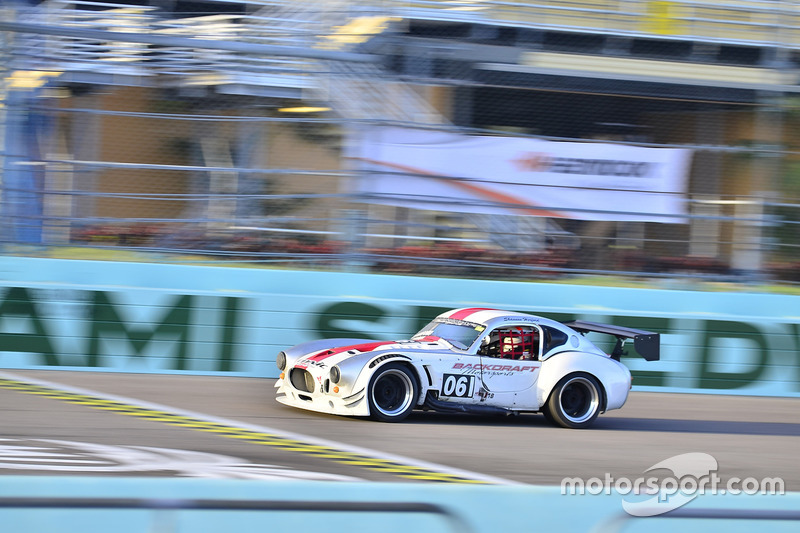 #061 MP1B Shelby Cobra driven by Mike McLoughlin of Backdraft Motorsports