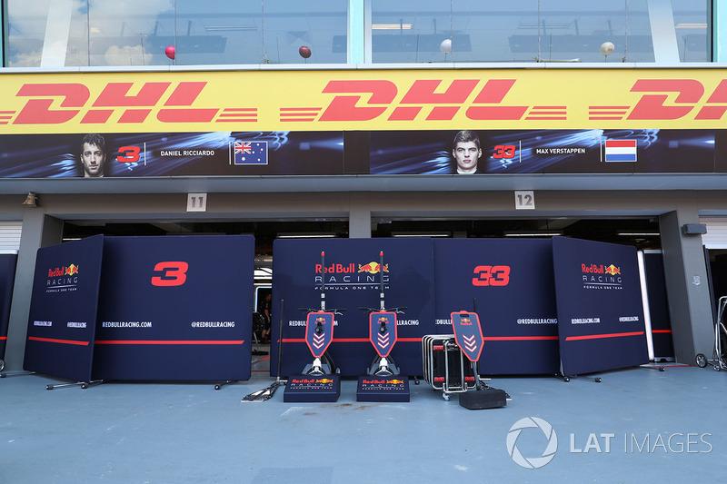 Red Bull Racing: Garage