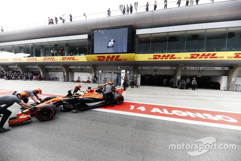18 місце — Фернандо Алонсо, McLaren. Умовний бал — 3,604