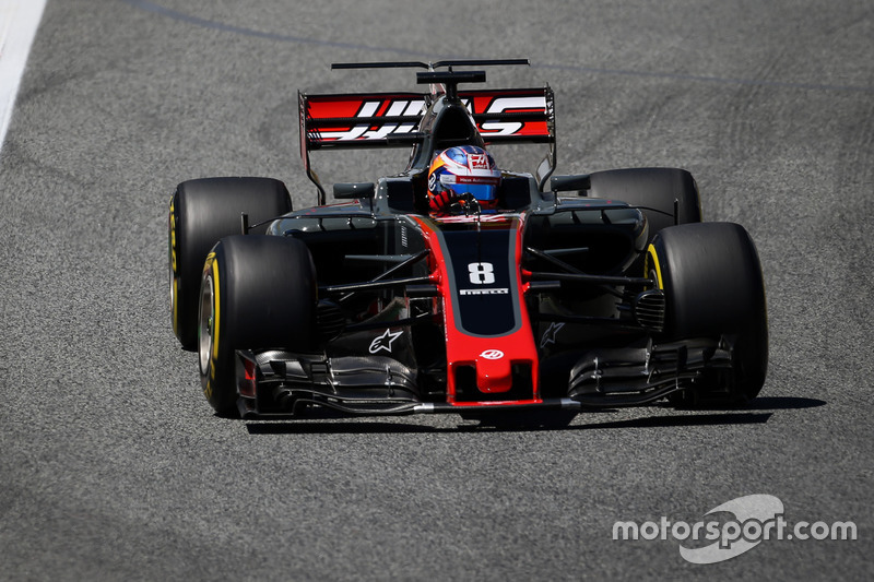 10. Romain Grosjean, Haas F1 Team VF-17