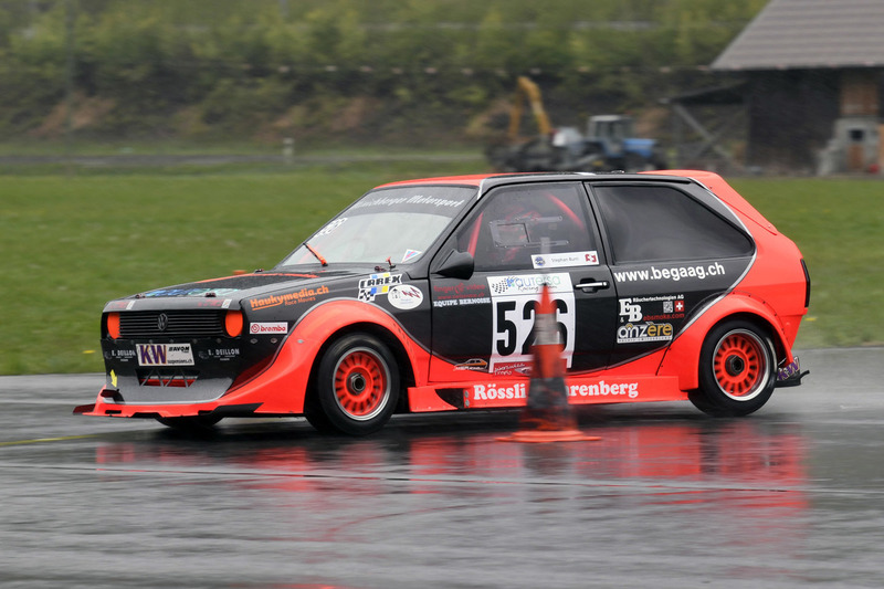 Stephan Burri, Volkswagen Polo, Autersa Racing, Interswiss Trophy leader