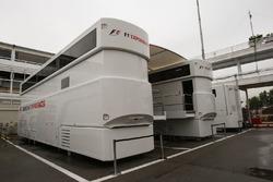 Renntransporter: F1