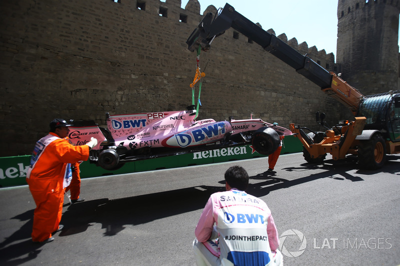 Auto von Sergio Perez, Sahara Force India VJM10