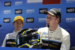Persconferentie: Thed Björk, Polestar Cyan Racing, Volvo S60 Polestar TC1