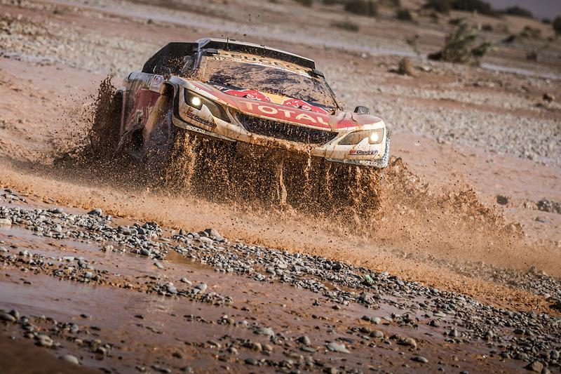 #312 Peugeot Sport Peugeot 3008 DKR: Sébastien Loeb, Daniel Elena