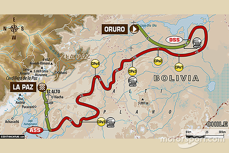 6. Etappe: Oruro - La Paz