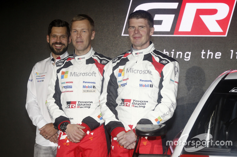 Кай Линдстрем и Миикка Анттила, Toyota GAZOO Racing, Toyota Yaris WRC