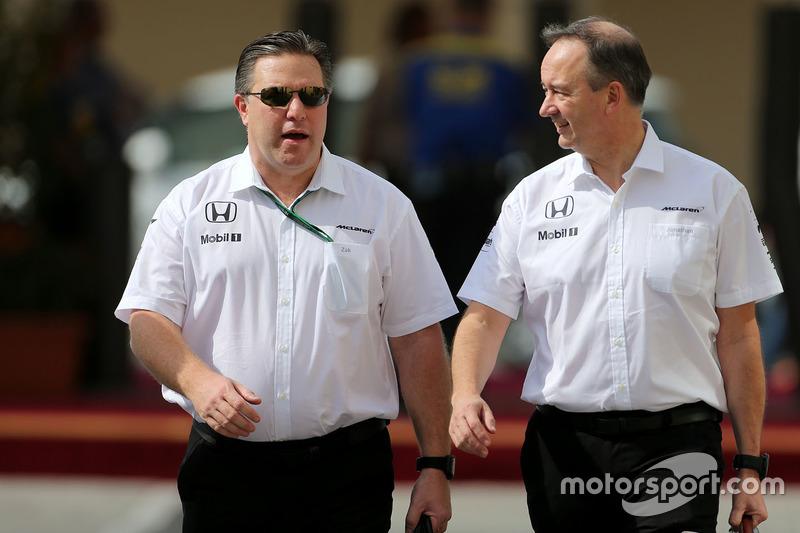Zak Brown, McLaren Geschäftsführer