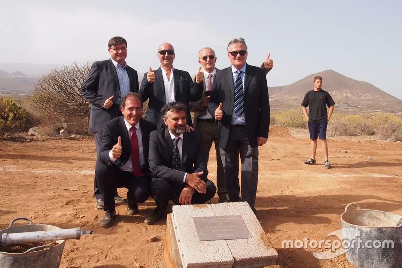 Circuito de Tenerife: Grundsteinlegung
