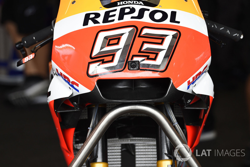 Новий аеродинамічний корпус на мотоциклі Марка Маркеса, Repsol Honda Team