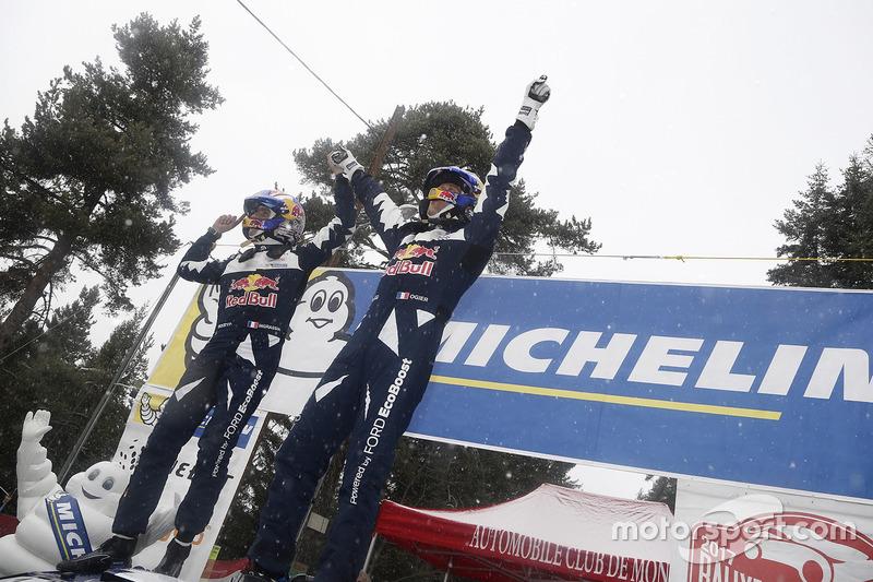 Ganadores del Rally Sébastien Ogier, Julien Ingrassia, M-Sport