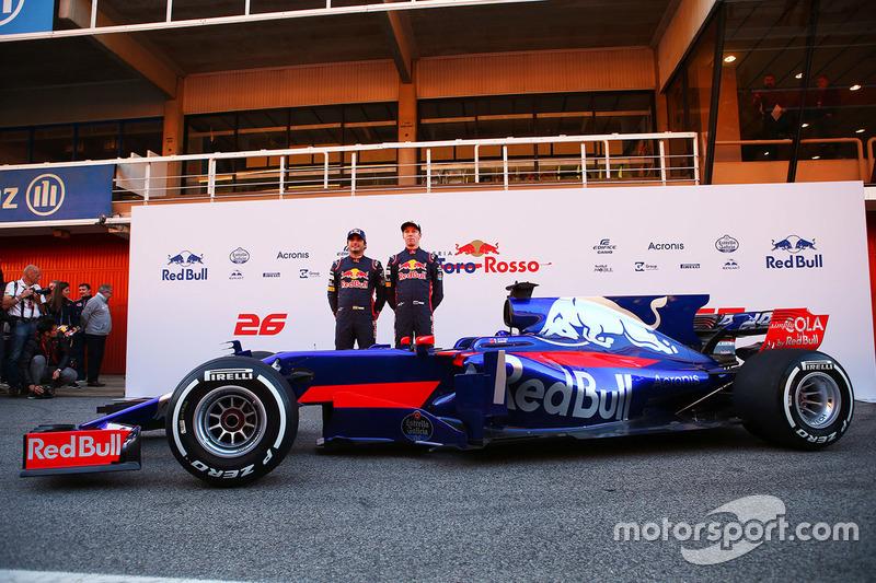 Карлос Сайнс, Scuderia Toro Rosso, Даниил Квят, Scuderia Toro Rosso