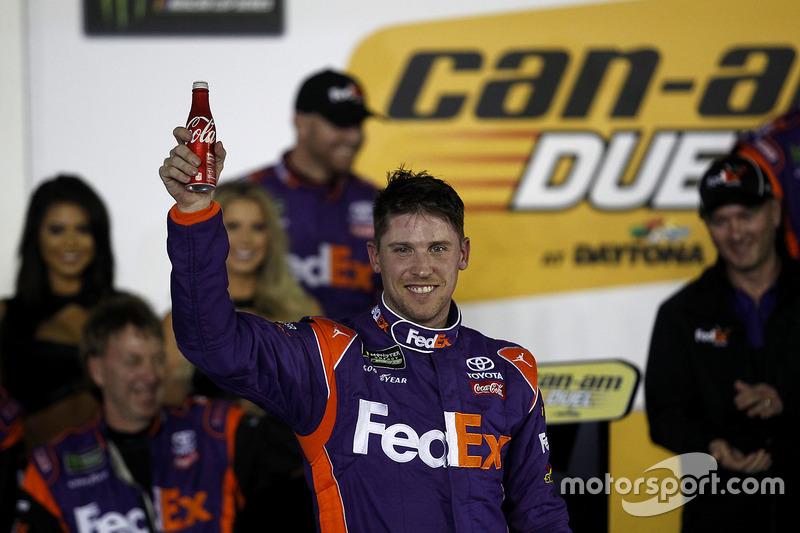 1. Duel 2, Denny Hamlin, Joe Gibbs Racing, Toyota