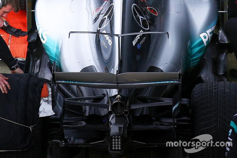 Mercedes AMG F1 W08: Winglet