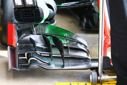 Detail Fronflügel, Haas F1 Team VF-16