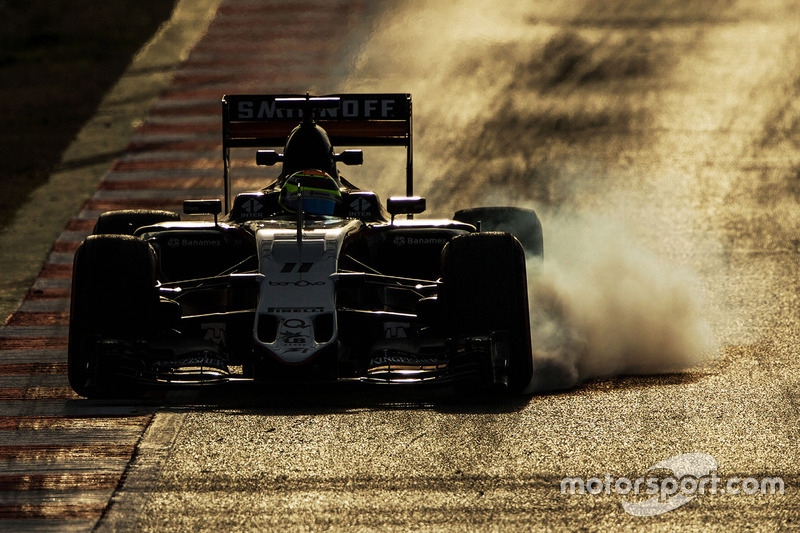 #1: Force India VJM09: Sergio Perez