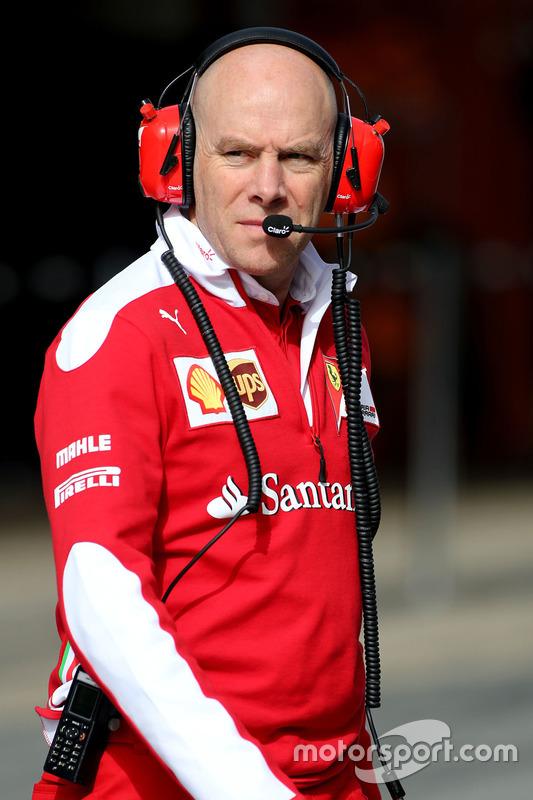 Jock Clear, Scuderia Ferrari