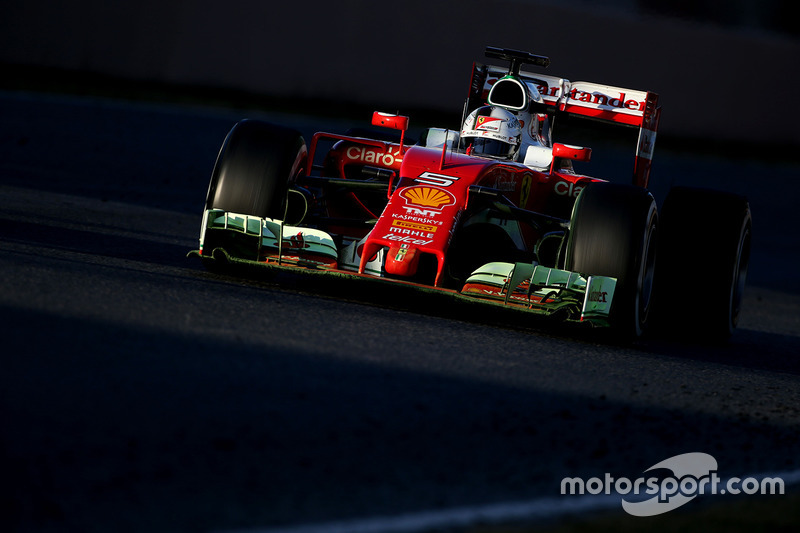 #3: Ferrari SF16-H: Sebastian Vettel