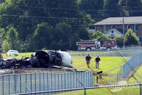 Dale Earnhardt Jr. vliegtuigcrash