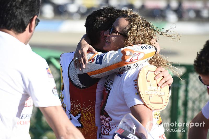 Марк Маркес, Repsol Honda Team, з мамою