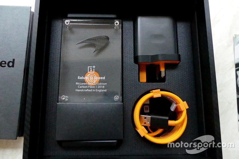 McLaren & OnePlus 'Salute to Speed'
