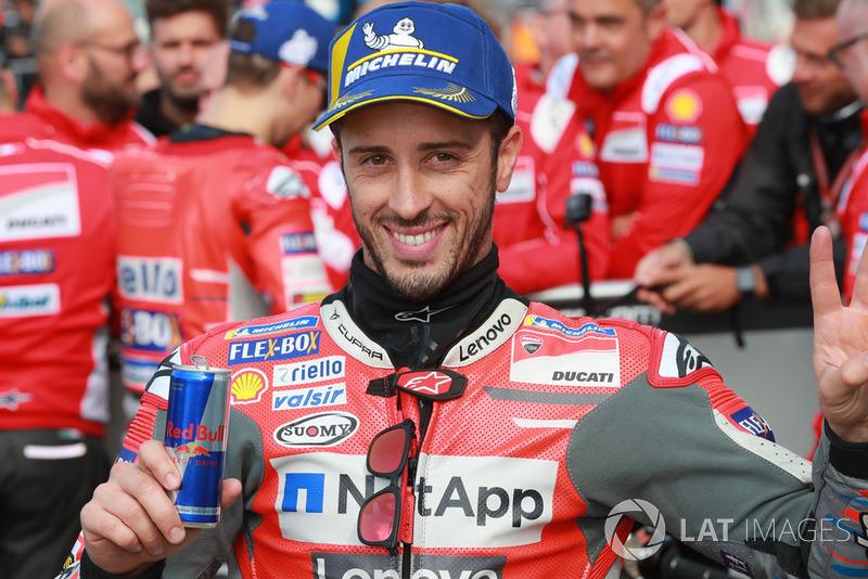 Segundo clasificado Andrea Dovizioso, Ducati Team