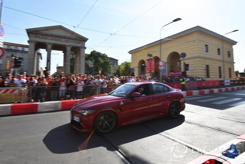 Marcus Ericsson, Sauber con el Alfa Romeo Quadrifoglio