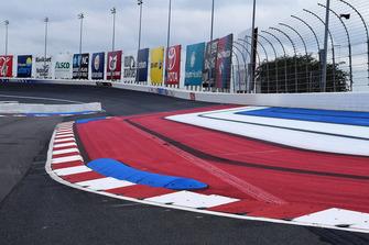 Charlotte Motor Speedway: Schikane auf der Gegengerade des Roval