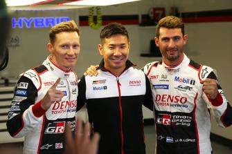 Pole: #7 Toyota Gazoo Racing Toyota TS050: Mike Conway, Kamui Kobayashi, Jose Maria Lopez