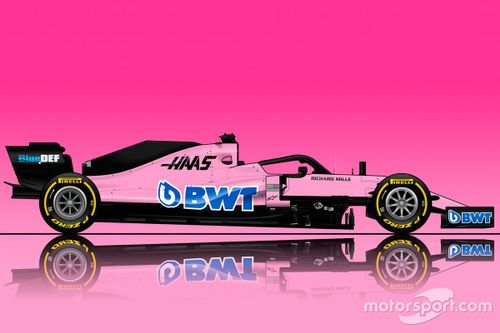 Haas BWT livery concept
