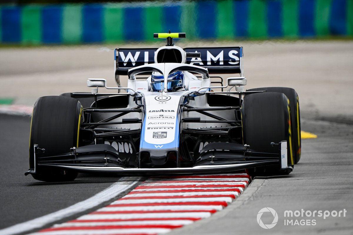 P15 Nicholas Latifi, Williams FW43