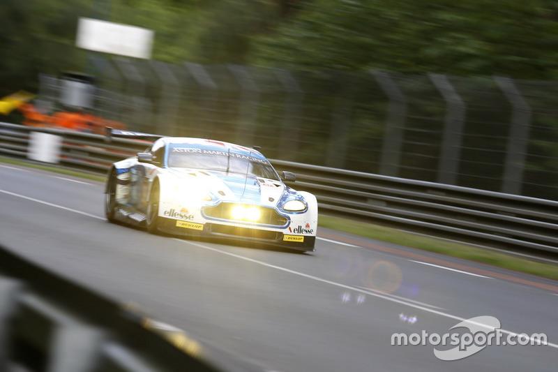 36e: #99 Aston Martin Racing Aston Martin Vantage: Andrew Howard, Gary Hirsch, Liam Griffin