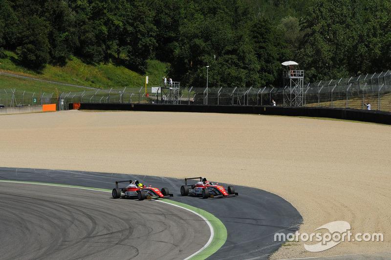 L'incidente di Mick Schumacher, Prema Powerteam e Juan Manuel Correa, Prema Powerteam