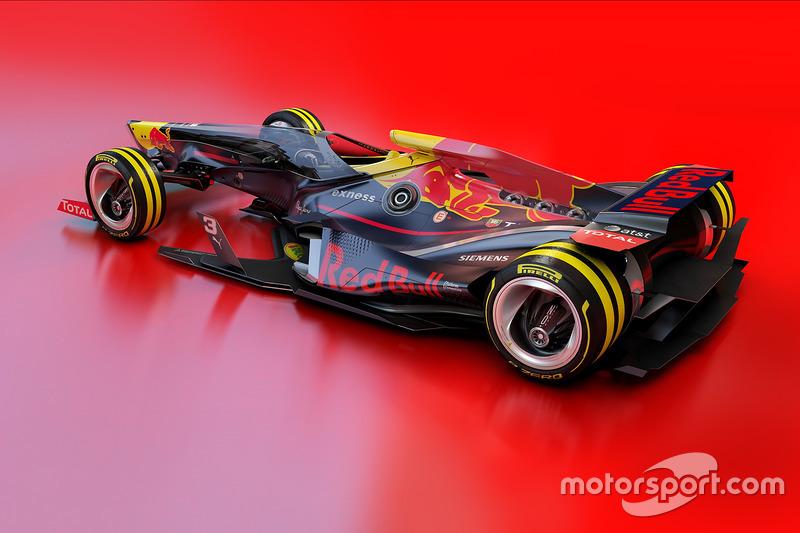 Designstudie für 2030: Red Bull Racing