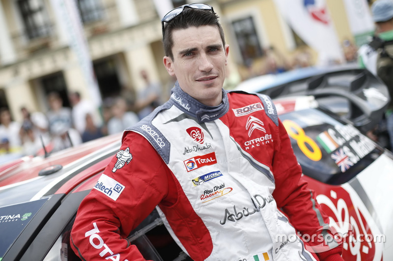 Craig Breen, Citroën DS3 WRC, Abu Dhabi Total World Rally Team