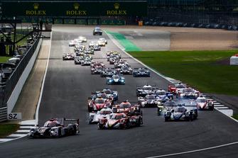 Start zu den 4h Silverstone der ELMS 2018