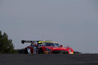 #87 Akka ASP Team Mercedes-AMG GT3: Nicolas Jamin, Denis Bulatov