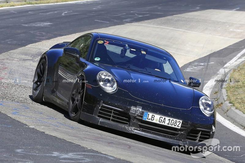 Шпигунське фото Porsche 911 GT3 2020 року