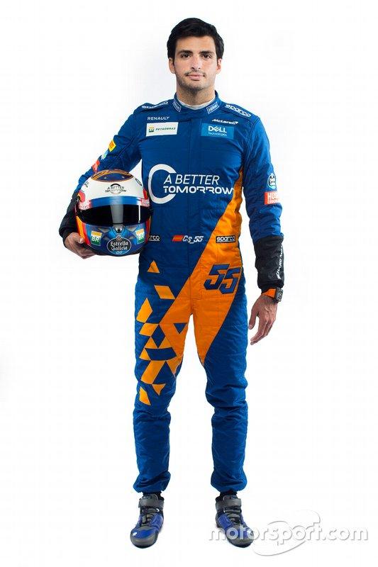 #55 Carlos Sainz, McLaren (Llega de Renault)