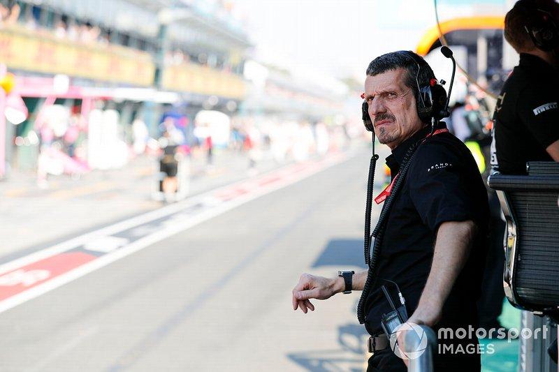 Guenther Steiner, director de Haas F1