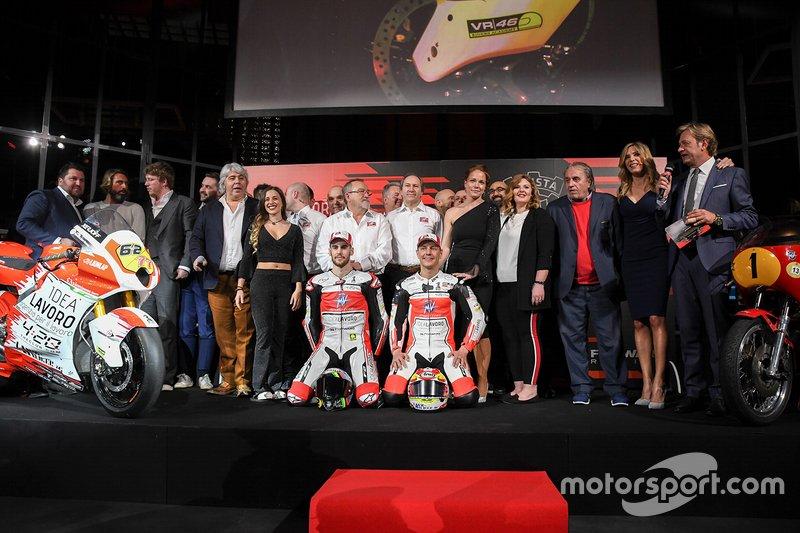 Stefano Manzi, Dominique Aegerter, MV Agusta Forward Racing