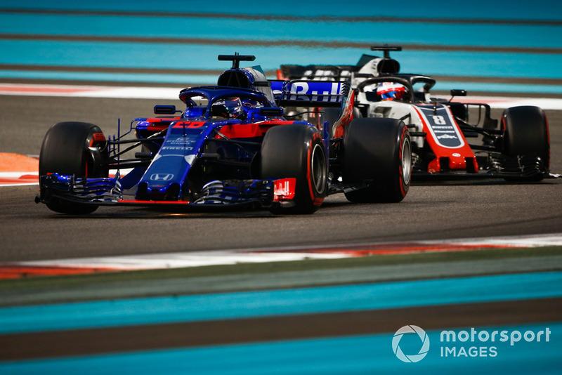 Брендон Хартлі, Toro Rosso STR13, Ромен Грожан, Haas F1 Team VF-18
