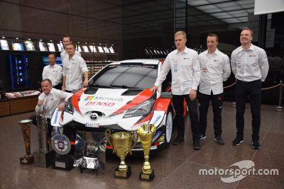 TOYOTA GAZOO Racing WRC2019シーズンエンド取材会