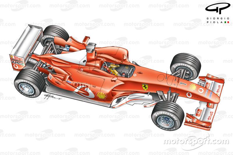 Ferrari F2003-GA 3/4 view