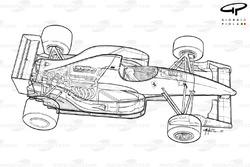 Ferrari F92A (644) 1992 detailed overview