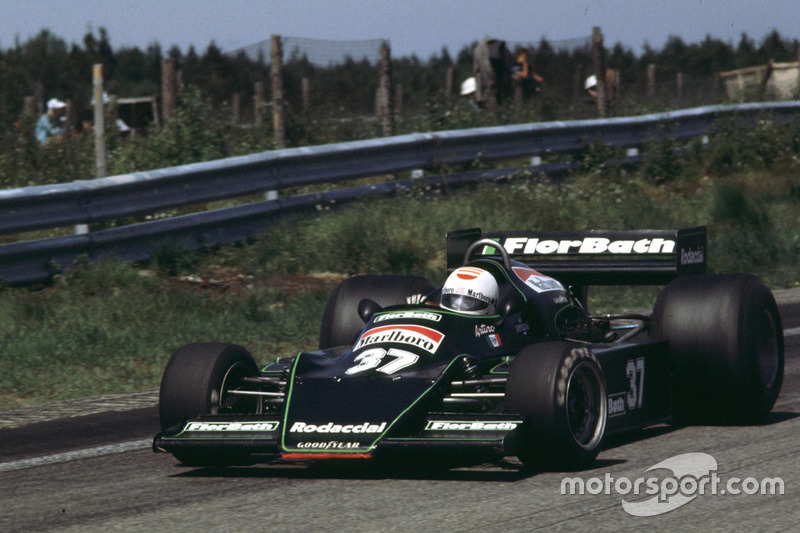 18.  Arturo Merzario. 57 races (1972-1979). Best result - fourth (Brazil 1973, Italy 1973, South Africa 1974)